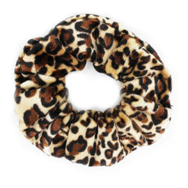 Scrunchie Velvet - Tiger