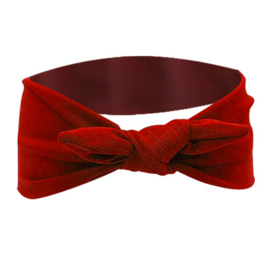 Knot Headband - Red