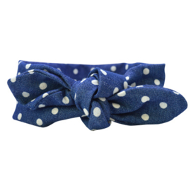 Bandeau Headband Girls - Denim