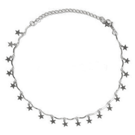 Stars Necklace - Silver