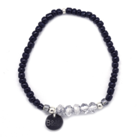 Armparty - Blue & Silver