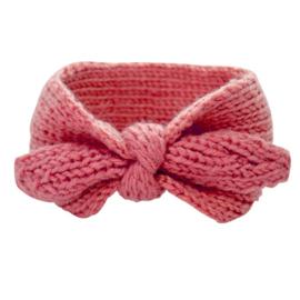 Haarbandje Winter Meisje Strik - Roze