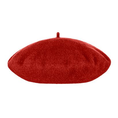 Baret Wol - Rood