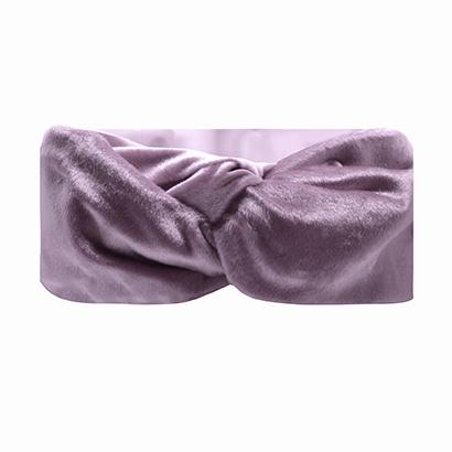 Haarband Bandeau Velvet Lila