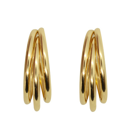 Hoops 3 Double - Gold