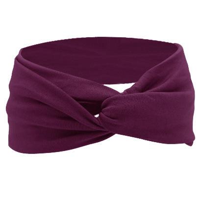Twist Headband - Purple