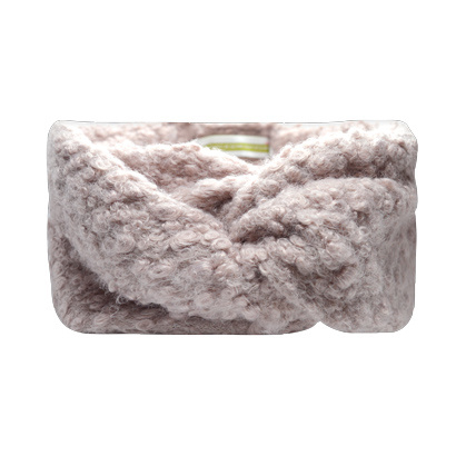 Haarband Bandeau Fluffy - Licht Roze