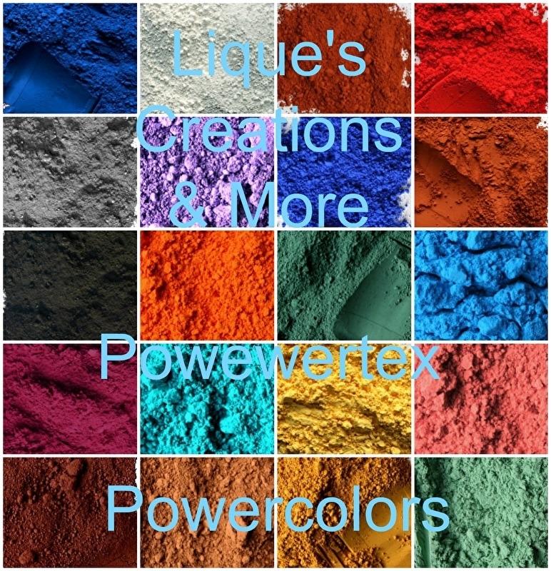 Powertex Powercolor 20 kleuren prachtige kleurpigmenten