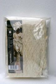 Paperdecoration wit 40 gram