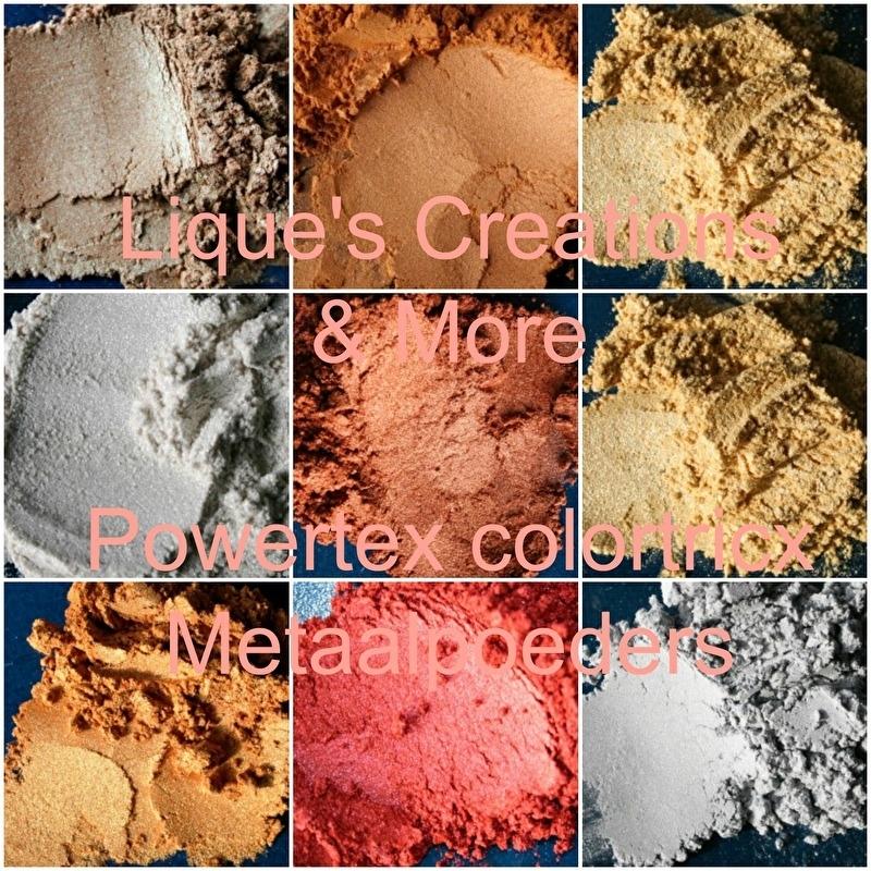 Powertex Colortricx metaalpoeders 9 kleuren