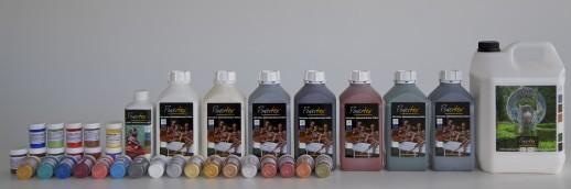 Powertex verf textielverharder universeelmedium kopen bij Lique's Creations & More WebWinkel