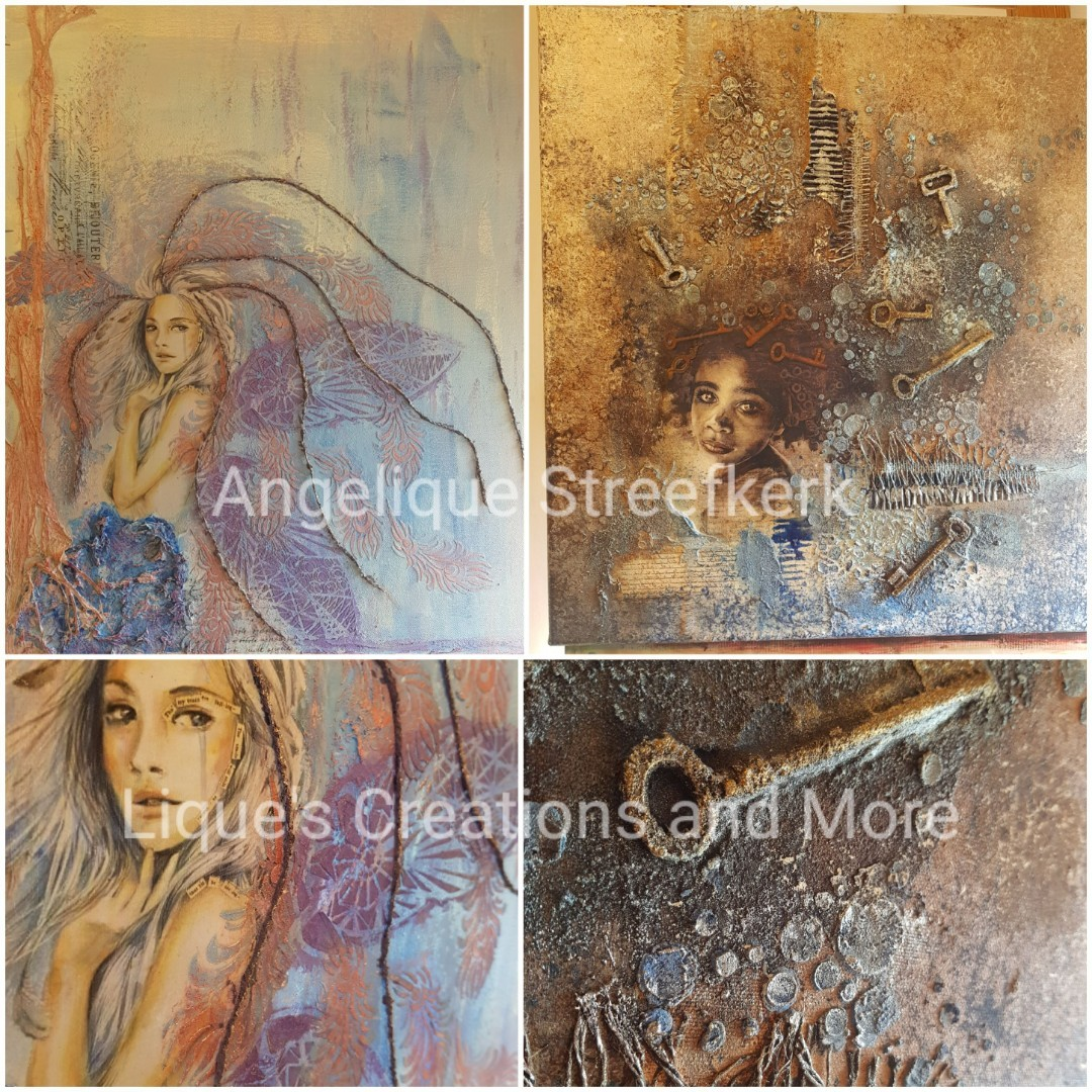 powerprint Schilderij Powertex Angelique Streefkerk Liques Creations and more
