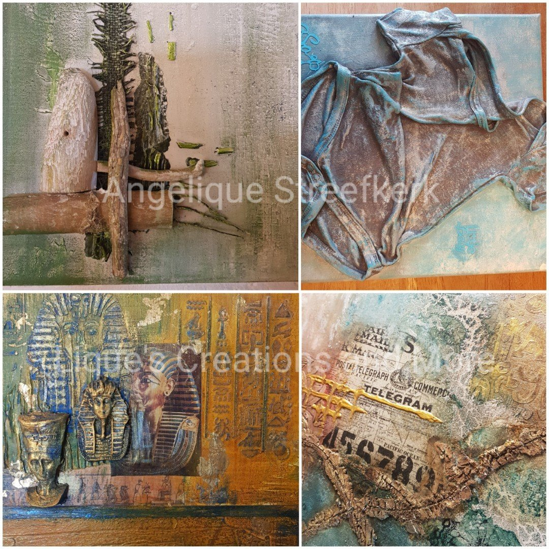 3D Schilderij  Powertex Angelique Streefkerk Liques Creations and more