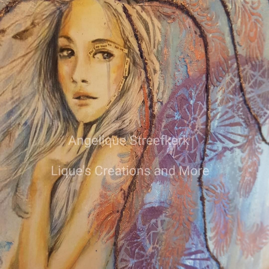Workshop Afbeelding op doek en Materie Schilderij