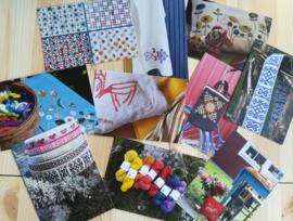 Blomsterstuga arts&crafts kaarten