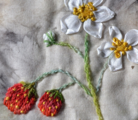Zweedse bloeiers patroonbladen