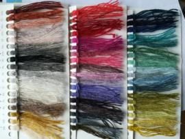 Deense gemêleerde luxe borduurwol