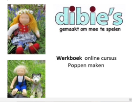 Werkboek Online Poppencursus + patroon