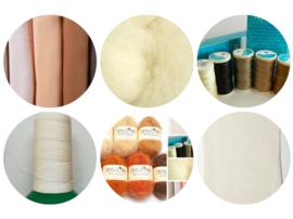 Compleet materialenpakket voor een pop