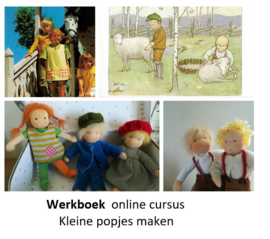 Werkboek Online cursus kleine popjes (digitaal)