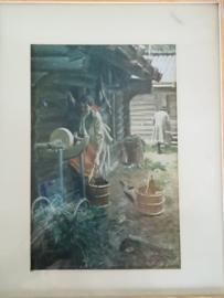 Schilderijtje Anders Zorn