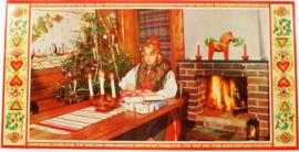 Julbonad Dalarna 2 (kerstposter