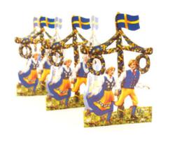 Papieren decoratie Midsommar