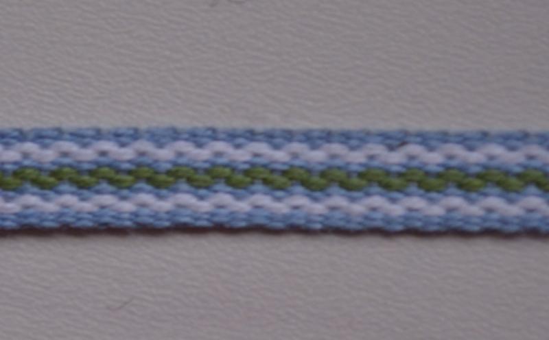 Lichtblauw gestreept,   prijs per meter
