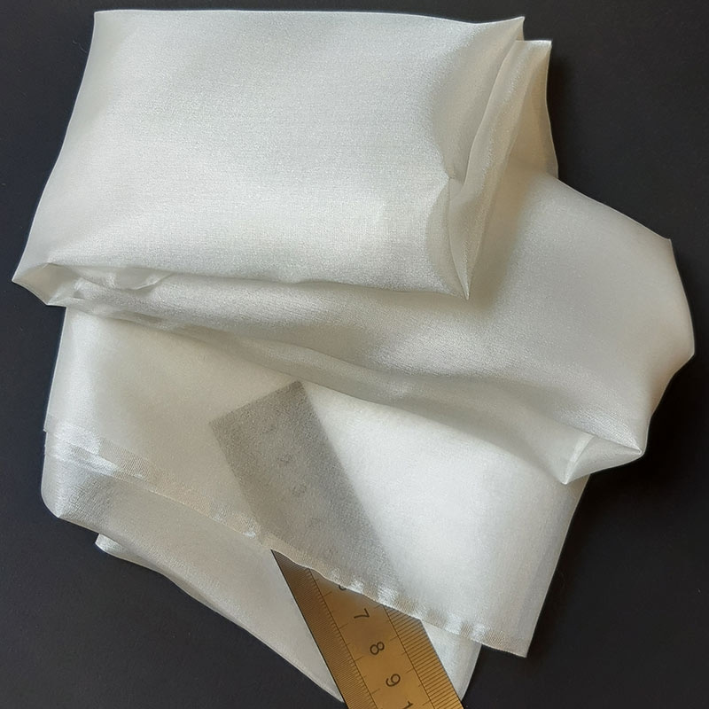 Pongée zijde 0.5, wit
