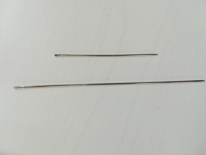 Poppennaald 12,5 cm