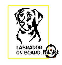 Labrador on board| Auto Stickers