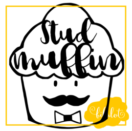 Studmuffin | Strijkapplicatie
