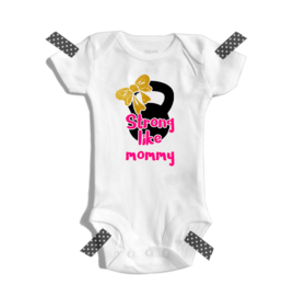 Strong like mommy | Romper