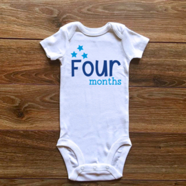 Four months | Blauwe collectie