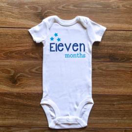 Eleven months   Blauwe collectie