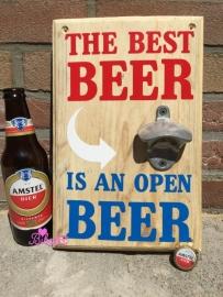 Bierbord natuurlijk hout