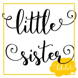 Little sister   Strijkapplicatie