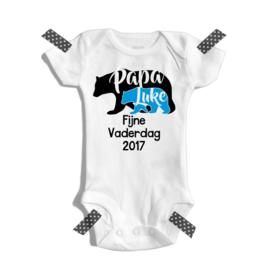 Papa bear - Fijne vaderdag 2017! | Romper