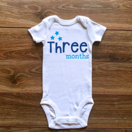 Three months | Blauwe collectie