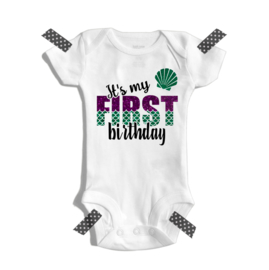 It's my first birthday - Zeemeerminnen thema
