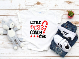 little miss candy cane| Shirt