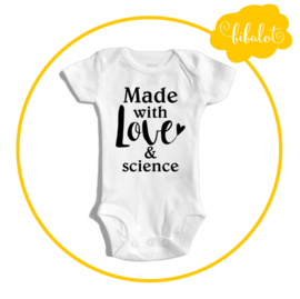 Made with love & science | Romper