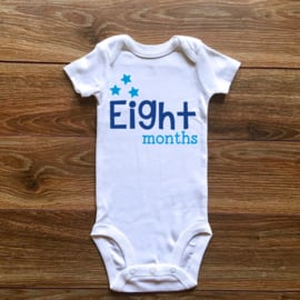 Eight months | Blauwe collectie