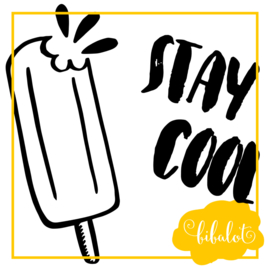 Stay cool | Strijkapplicatie