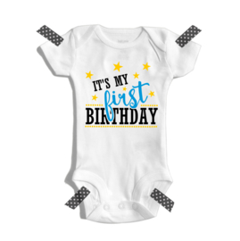 It's my first birthday (jongen) | Romper