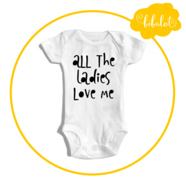 All the ladies love me | Romper