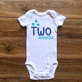 Two months | Blauwe collectie