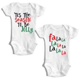 Tis the season to be jolly - Fa la la... | Romper