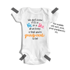We don't know if it's a he or she | Zwangerschaps aankondiging