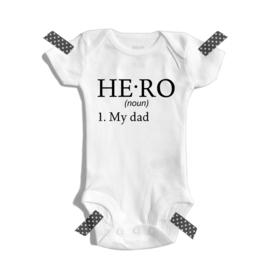 Hero - My dad | Romper